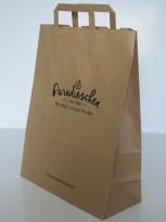 braune Papiertaschen