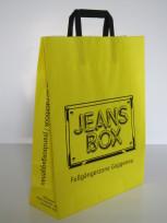 Papiertaschen mit Innenflachhenkel