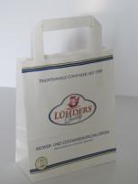Papiertaschen mit Papiergriff klein