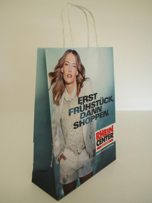 Papiertaschen mit Foto bedrucken