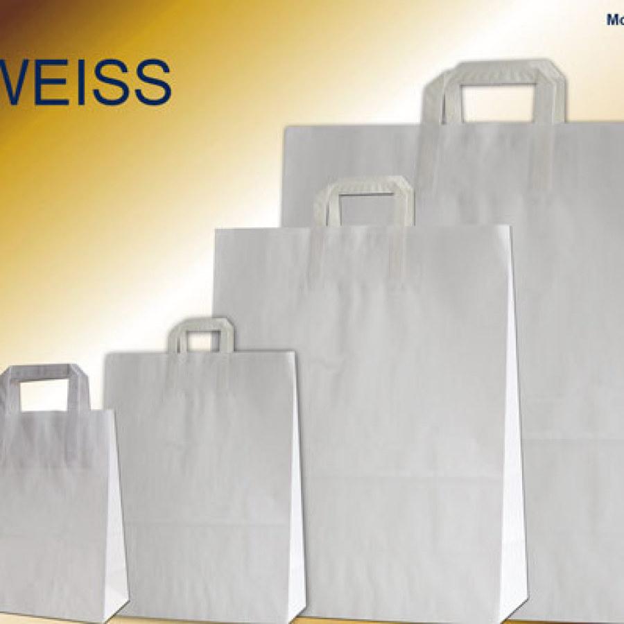 Papiertüten weiß bei Leicht Verpackungen