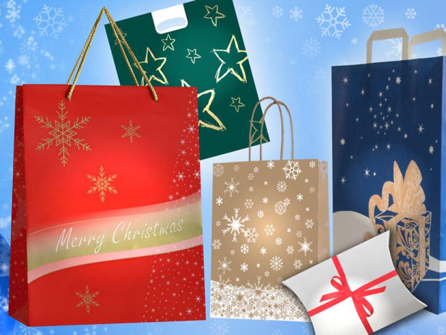 Tragetaschen mit Weihnachtsmotiv günstig kaufen bei Tragetaschen kaufen