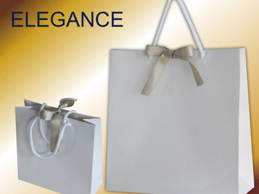 Geschenktaschen mit Kordeln und Satin Band als Verschluss hochwertige Geschenktasche